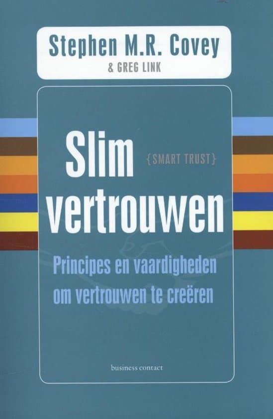 Slim vertrouwen - Covey