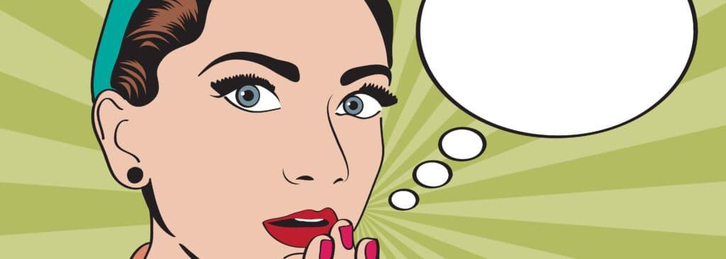 sta je vrouw - gesprek met jezelf