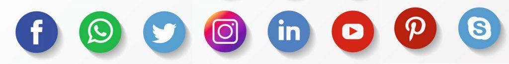 social pictogrammen